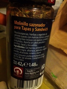 Here's what's in this sazonador